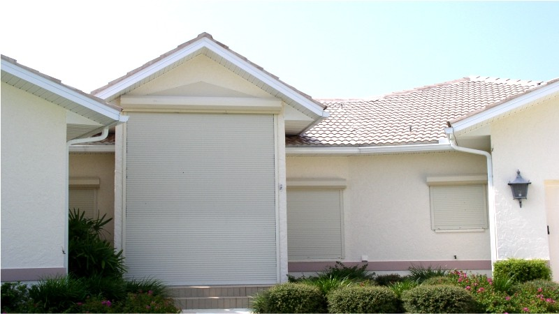 Rolling Shutters to Protect the Whole House