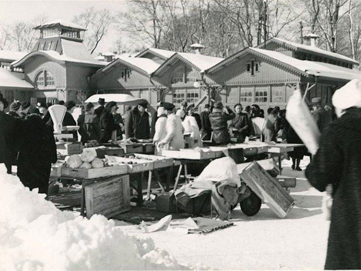 Robertsons vid Gamla saluhallen på 30-talet