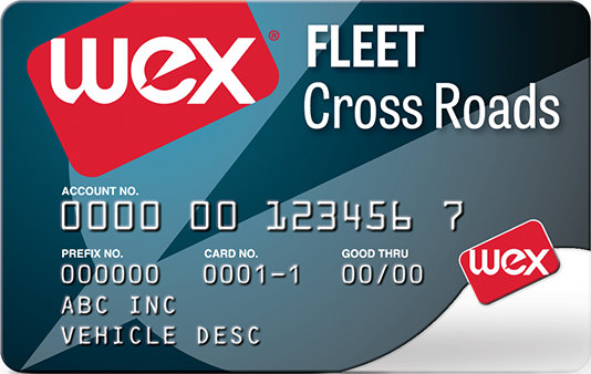 Wex fleet cross roads card