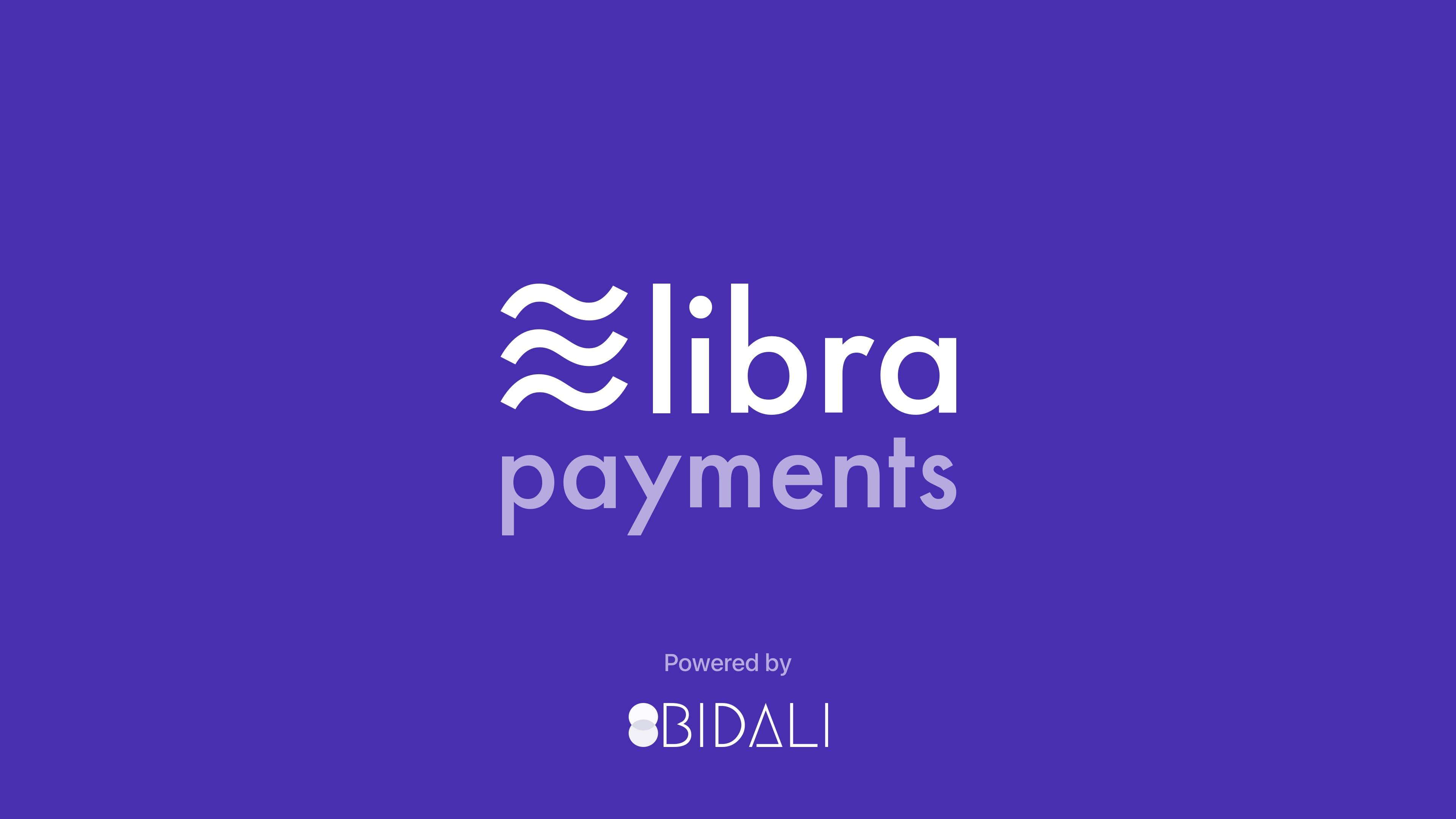 Bidali supports Libra