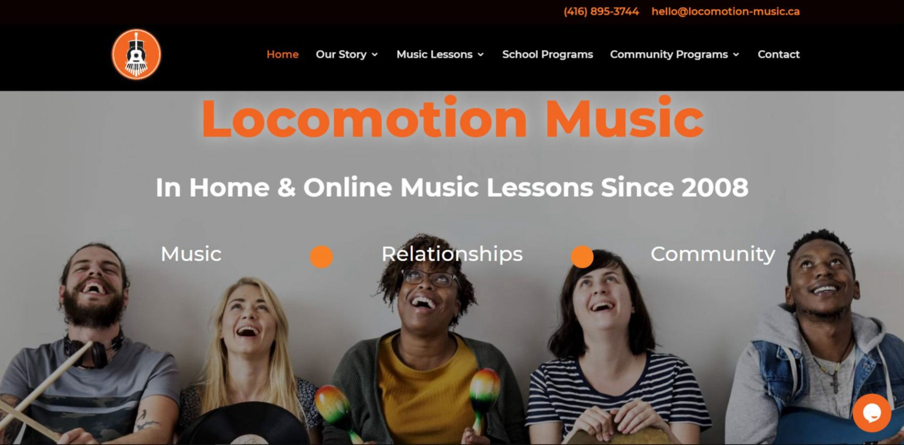 Locomotion Music Digital Marketing by Joshi Digital