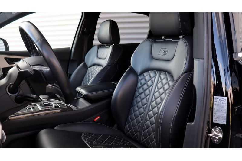 Audi Q7 4.0 TDI SQ7 quattro Pro Line + BOSE, Ruitstiksel, Carbon, Trekhaak afbeelding 15