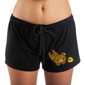 Rilakkuma And Bird Sleep Pajama Shorts for Women's