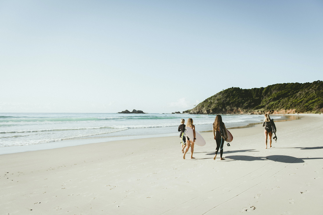 You can have the beach to yourself (credit: Destination NSW)