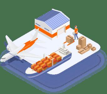 Logística, transporte y almacenamiento