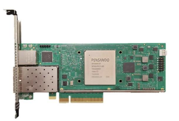 Pensando DSC-25 PCIe card