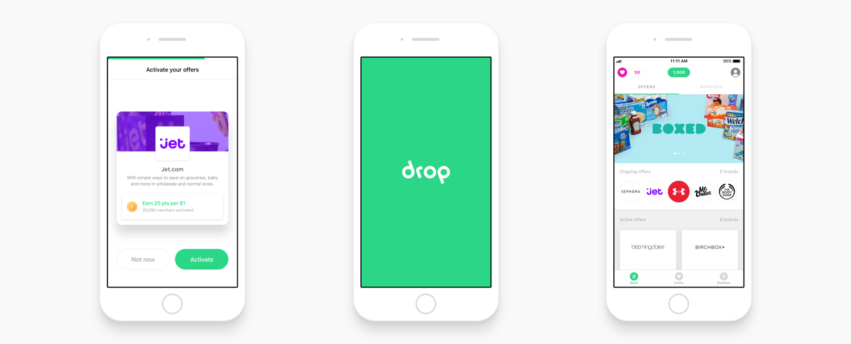 Drop App Screenshots