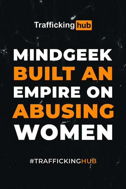 """""""MindGeek built an empire on abusing women"""" Poster"""