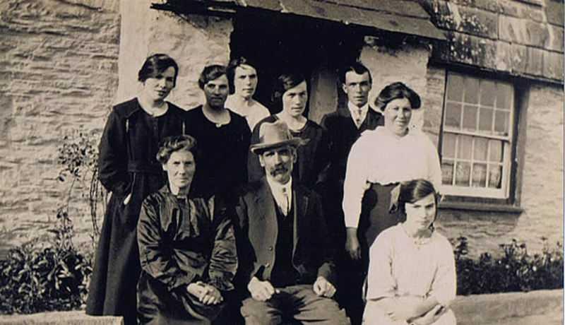 The Davis family at 'Springfield'