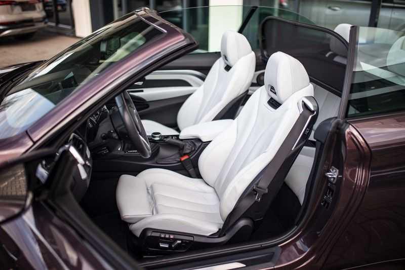 "BMW M4 Cabrio *Handgeschakeld / M-Sportuitlaat / Memory / HUD / 19"" / H&K* afbeelding 4"