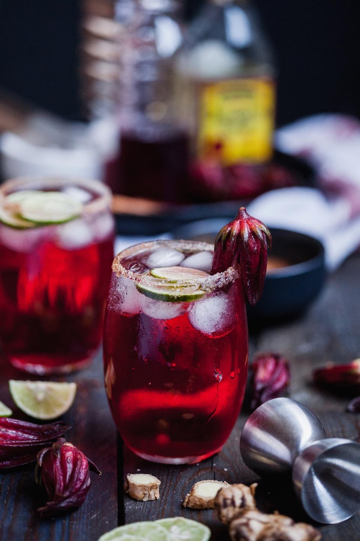 Winter Hibiscus Margarita