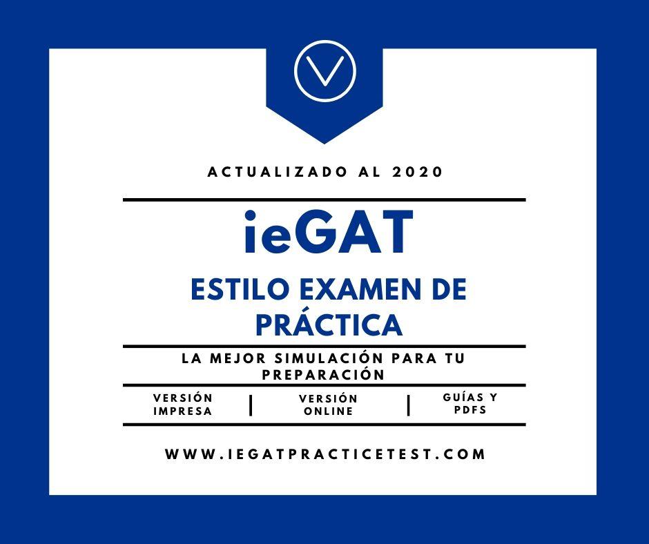 Examen Práctico ieGAT Preguntas PDF