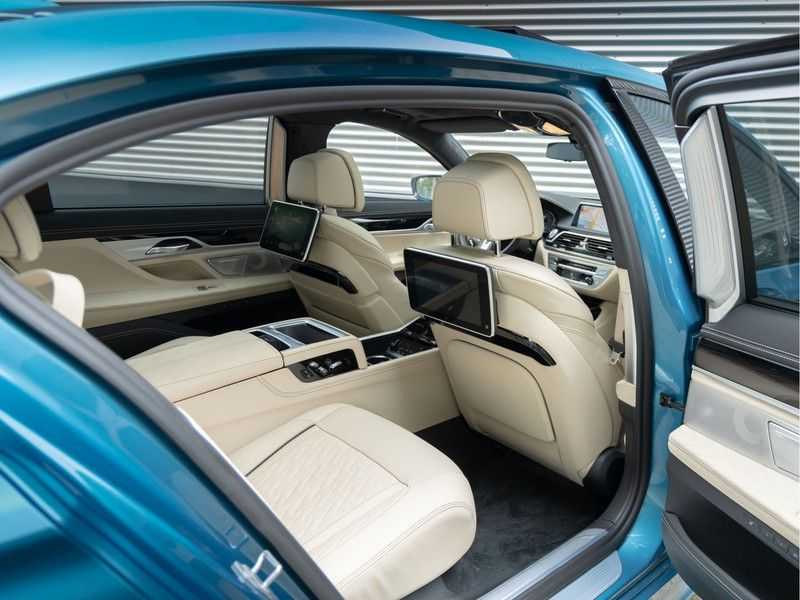 BMW 7 Serie 745Le xDrive Individual ''Maldives Blue'' - Full Option afbeelding 10
