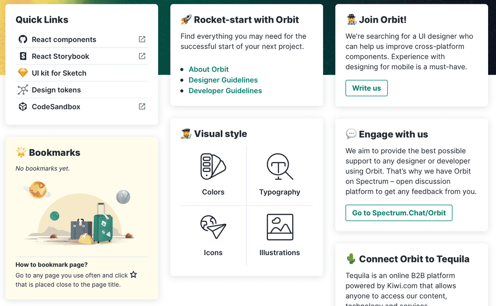 Orbit's homepage