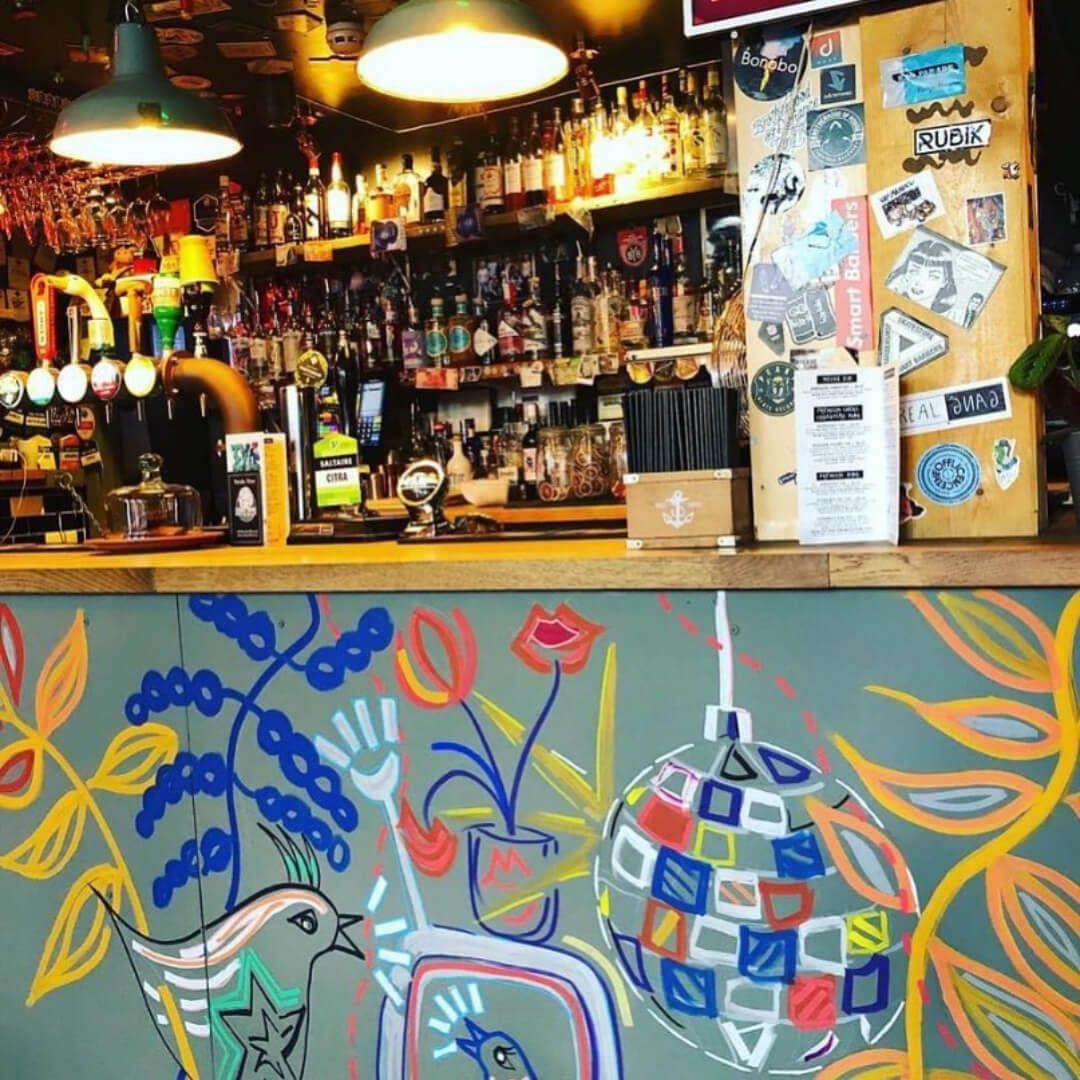 Bar at 212 Café & Bar Leeds