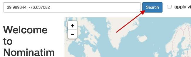 Step 1: reverse geocode latitude & longitude to address