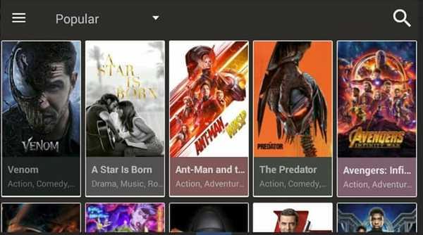 CinemaHD best Showbox alternatives