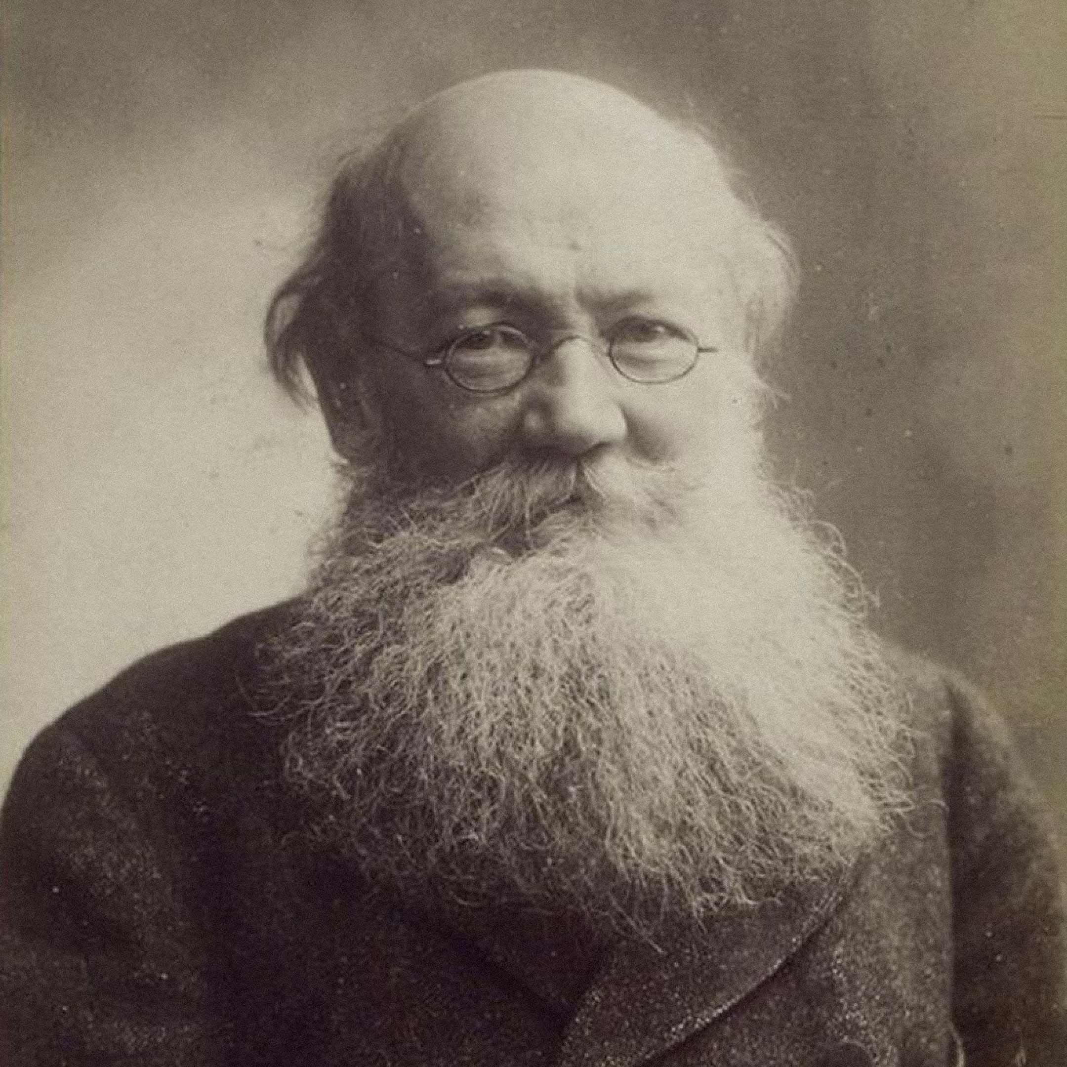 Петр Кропоткин в1900году / F. Nadar