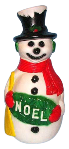 Deluxe Snowman w/ Black Hat photo