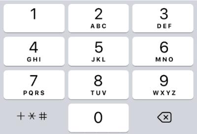 06phone pad