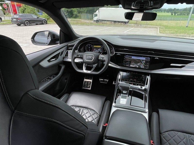 Audi Q8 50TDI 286pk Quattro S-Line Black Optic Lucht RS-Zetels B&O Pano Leder-Dash 22-Inch Soft-Close! afbeelding 24