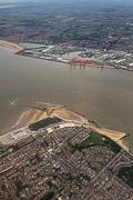 above Liverpool, England, United Kingdom