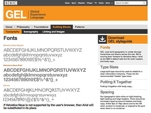 The BBC GEL Website