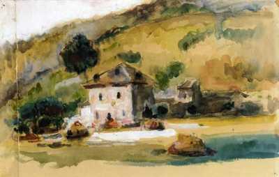 'Near Aix En Provence' by Paul Cezanne (c. 1867)