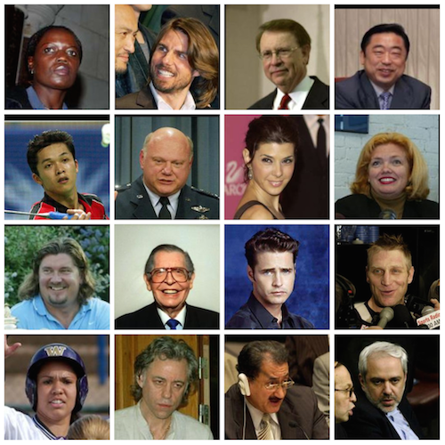 Labeled Faces in the Wild dataset