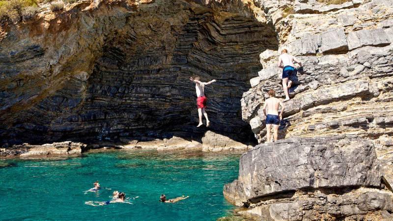 Seeing the superb Saklikent Gorge while sailing Turkey