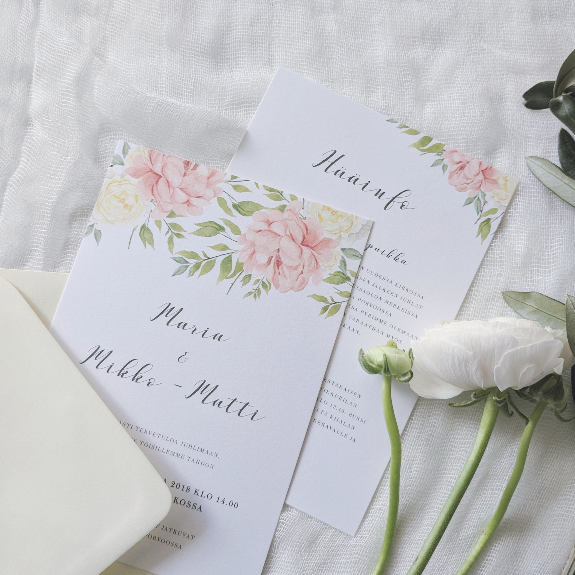 custom invitation design item