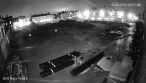 Construction Site CCTV night vision