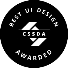 CSSDA Best UI Design Badge