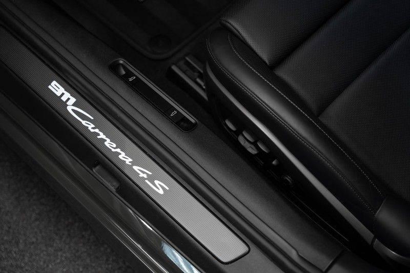 Porsche 911 992 4S PTS Schieffer Grau Slate Grey Sport Design Pakket 930 Leder vol Carbon 3.0 Carrera 4 S afbeelding 18