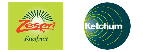 Zespri and Ketchum logos