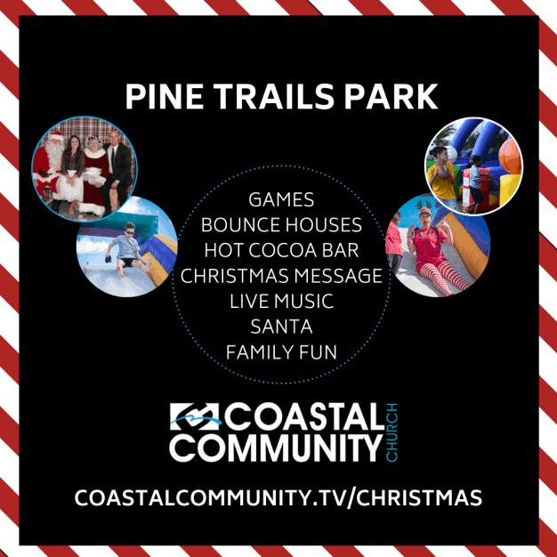 Pine-trails-park-coastal-community-church-parkland-florida-free-family-event-bounce-house-christmas-eve