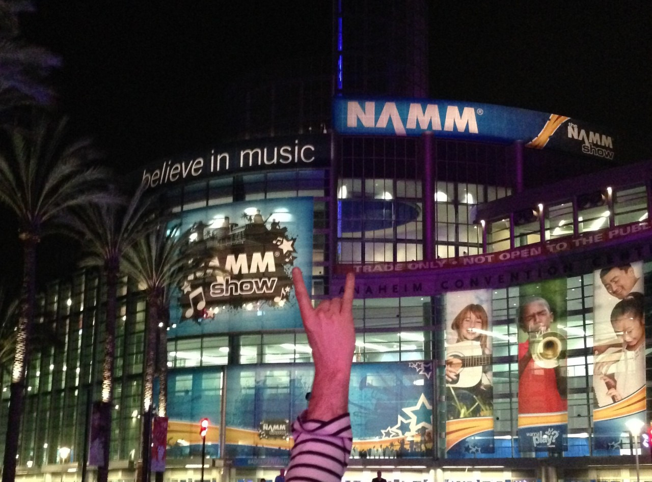 "NAMM - ""Believe in Music"""