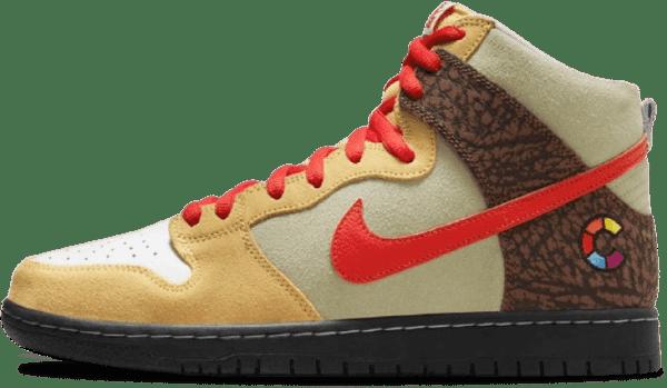 Nike x Color Skates SB Dunk High ISO