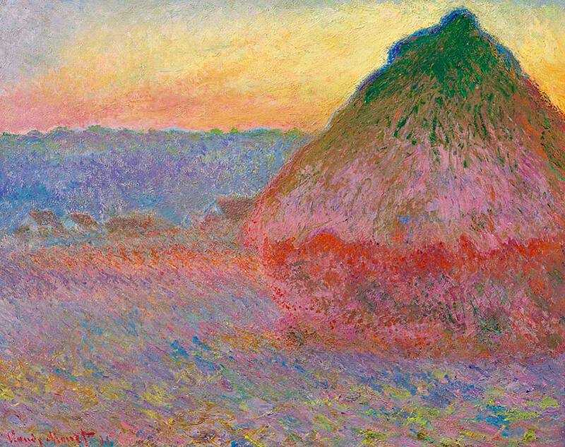 This version of Monet's Haystacks was sold in 2016 for $81.4 million.
