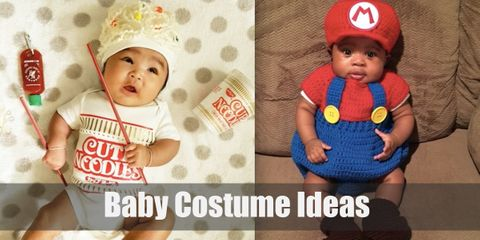 Try out these cute and adorable costumes for your precious baby!