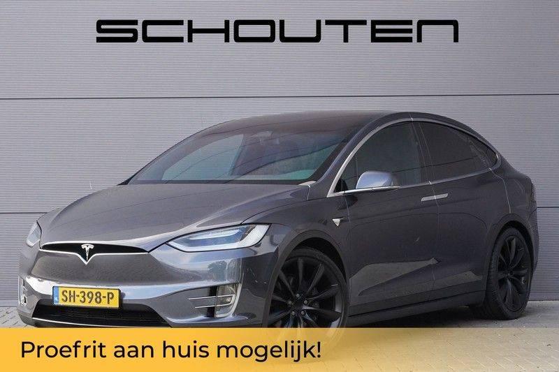 """Tesla Model X 100D Excl. BTW Luchtvering, Autopilot Leer 4% bijt. 22"""" afbeelding 1"""