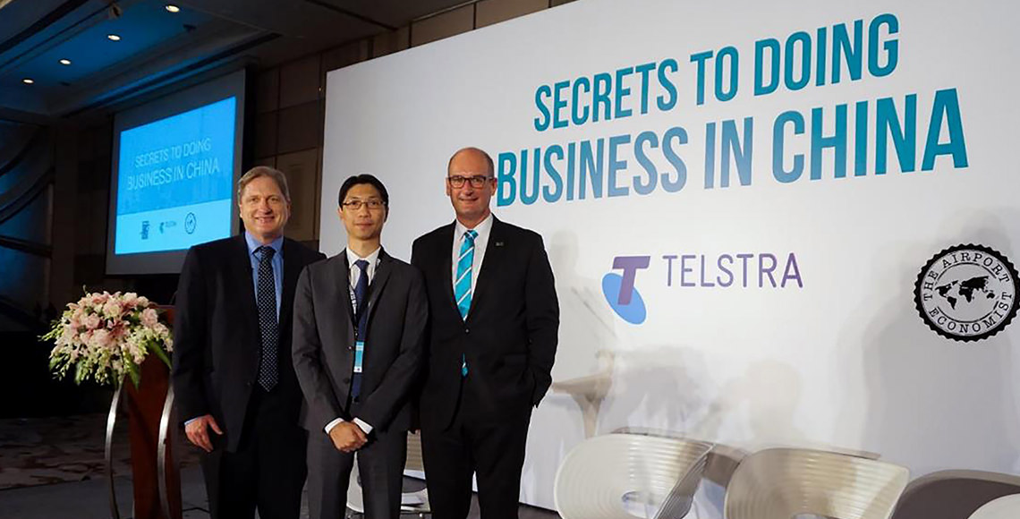 The Secrets To Doing Business in China Forum Hosted by David Koch