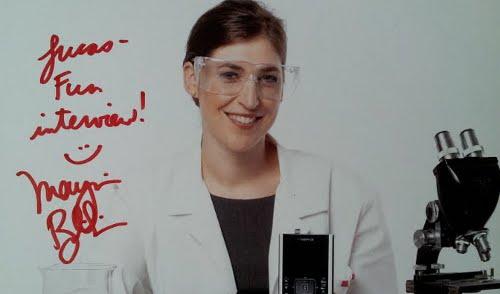 Mayim Bialik Autograph