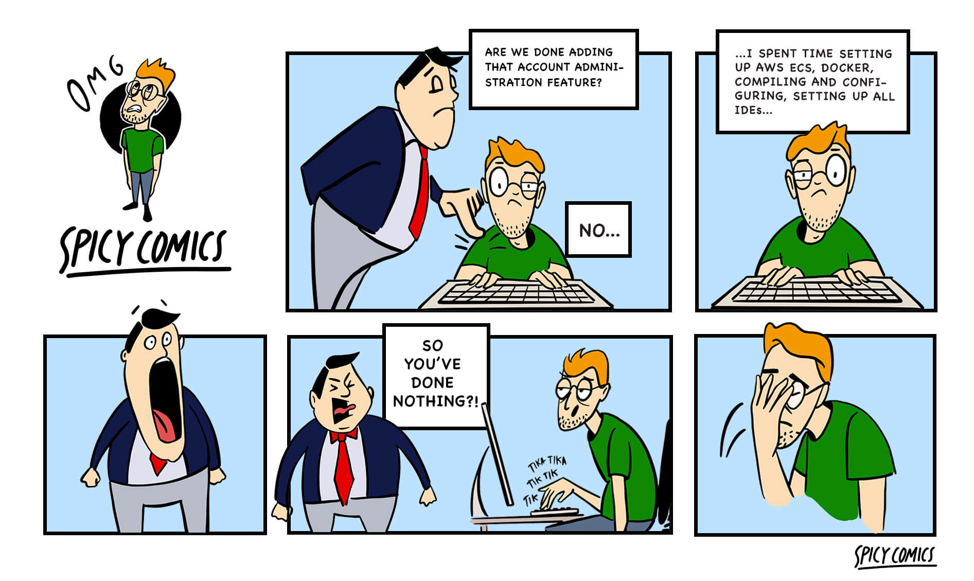 Spicy Comic #7 - Work, Love and Understanding