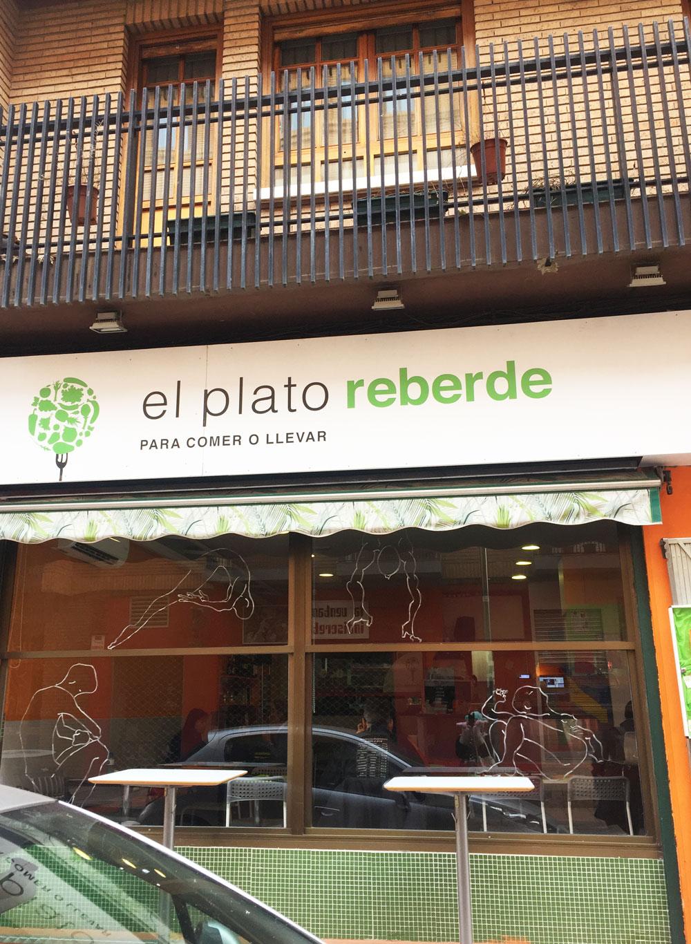El Plato Reberde exterior