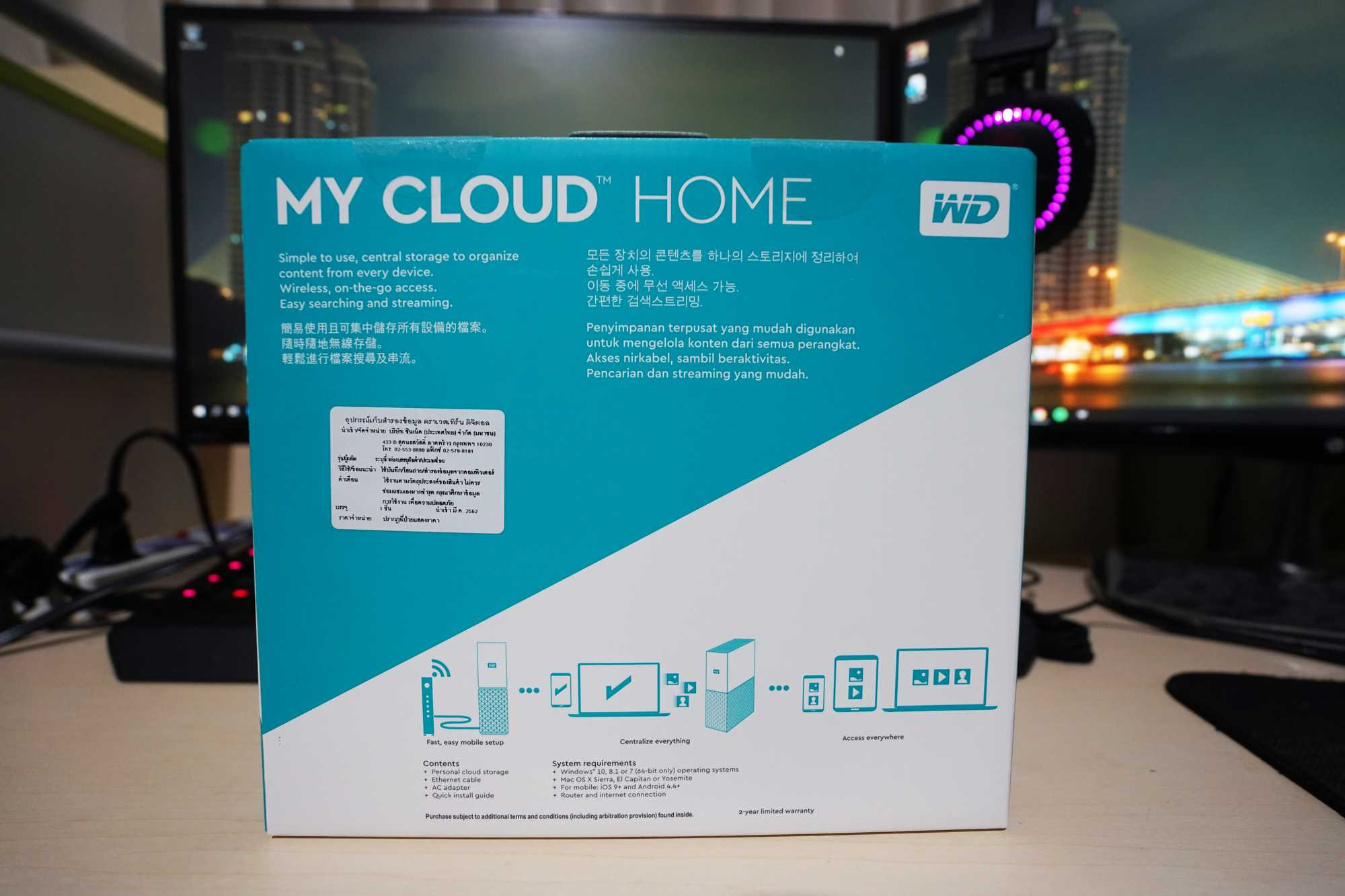 review wd my cloud home 3