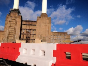 GB2 Barriers at Battersea Power Station