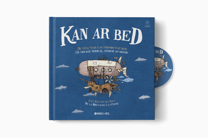 Kan ar Bed - Livre-CD