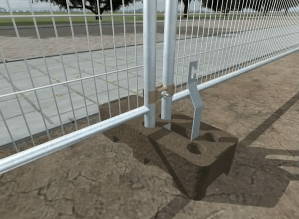 Anti-lift Device for Heras Fence
