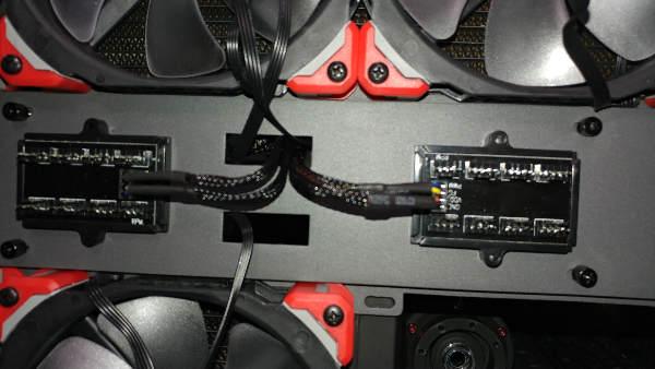Splitter on Top of Case